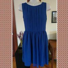 Delias sz nine dress Gorgeous royal lined dress. Like new. Sz 9 delia's Dresses