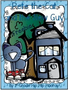 Pete the Cat activities: Pete the Cat and The New Guy FREEBIE
