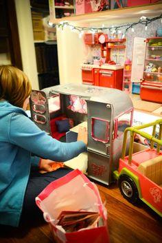 American Girl Room, AG Accessories, AG Dolls, DIY Dollhouse for AG