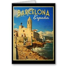 Barcelona Spain Vintage Travel Postcards online after you search a lot for where to buyDiscount Deals Barcelona Spain Vintage Travel Postcards lowest price Fast Shipping and save your money Now! Photo Postcards, Vintage Postcards, Barcelona Spain Travel, Barcelona City, Barcelona Catalonia, Illustrations Vintage, Vintage Films, Vintage Art, Vintage Style