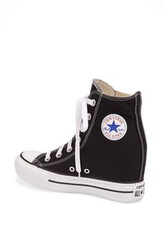 78059f70b35b Converse Chuck Taylor® All Star® Hidden Wedge Platform High-Top Sneaker