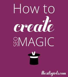 SEO doesn't have to be as difficult as it sounds. Use these simple tips to create SEO magic on your blog and get noticed by google.