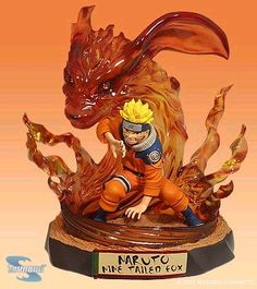 Naruto Nine Tailed Fox Figurine