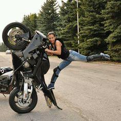 Bike stunt | repinned by www.BlickeDeeler.de | Follow us on www.facebook.com/BlickeDeeler