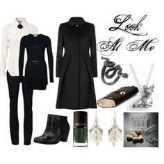 A fashion look from June 2013 featuring Patrizia Pepe sweaters, Moschino Cheap & Chic blouses and MaxMara coats. Browse and shop related looks. Severus Rogue, Severus Snape, Draco Malfoy, Harry Potter Style, Harry Potter Outfits, Character Inspired Outfits, Fandom Fashion, Slytherin, Fandom Outfits