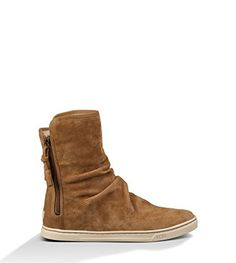 UGG Australia Womens Becky Boot Chestnut Size 8.5. Size  8.5 B(M) US.  Quality Design. Ultra Comfort. Style Details  Water resistant Silkee suede  or metallic ... 49400f0a99