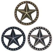 Thin RopeStar Drawer Pull Cabinet Knob Western Southwest Decor Texas Ranger  Star