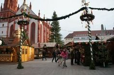Scenic Tours, Christmas Markets Cruise-A day in historic Wurzburg