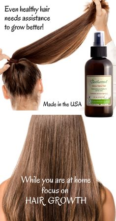 A great way for fine, thin hair to grow fast and thick. Diy Beauty Hacks, Diy Hair Mask, Hair Growth Treatment, Natural Hair Styles, Long Hair Styles, Hair Growth Tips, Hair Remedies, Hair Health, Facon