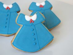 Madeline's Dress (School Uniform) Sugar Cookies | Make Me Cake Me