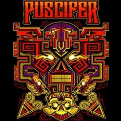 My SF BFF @urbanaztec did a epic poster for Puscifer for my other two BFF's…