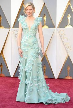 Cate Blanchett in Givenchy. See more bridal inspired Red Carpet looks here: http://www.easyweddings.com.au/blogs/easy-weddings-blog/fashion-easy-weddings-blog/oscars-2016-favourite-wedding-worthy-looks-red-carpet/
