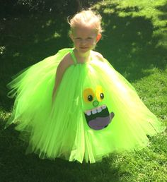 monster tutu slimer costume halloween ghostbusters ghostbusters girls