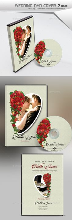 Wedding dvd cover and dvd label template label templates wedding dvd cover pronofoot35fo Choice Image