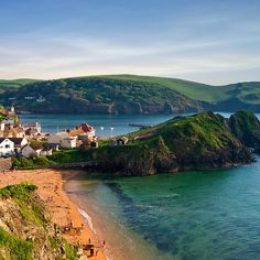 Beautiful Hope Cove, Devon - love to the west country! One of our favourites! #travel #westcountry #beauty