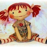 Rag Doll & Softie Patterns to Sew Soft Toys & Animals / Rag Doll Patterns