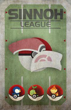 Sinnoh League Pokemon Starters