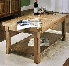 We have a wide selection of quality Oak and other solid wood Coffee Tables in styles: Modern Contemporary to Rustic and Oak & Painted Buy today with our Price Match and Free UK delivery offers. Solid Oak Coffee Table, Living Furniture, Country Farmhouse, Contemporary Style, Painted Furniture, Home Accessories, Beautiful Homes, Windermere, Range