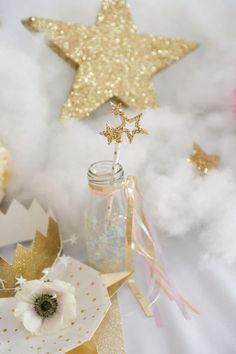 Home Interior Colour Kara's Party Ideas Twinkle Twinkle Little Star Birthday Party Diy Birthday Decorations, Birthday Diy, Girl Birthday, Birthday Parties, Birthday Ideas, Star Party, Pj Party, Party Games, Star Baby Showers