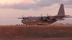 C-130 Dirt Strip Training