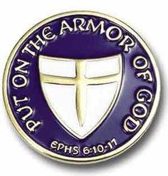Armor of God Lapel Pin Needzo Religious. $5.58