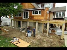 ▶ Go With the Flow | Jersey Shore Rebuilds, Episode 6 (2013) - YouTube  Not exactly DIY, but a lot of great info on rebuilding after sandy and ways to prevention from another disaster...such as break away foundation & flood vents in the foundation.
