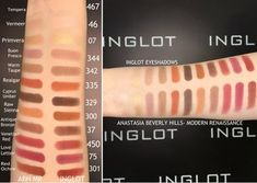 ABH Modern Renaissance DUPE with INGLOT!