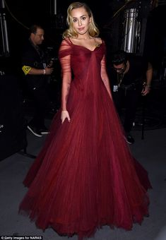 Heart on her sleeve! The star's gown showcased her enviable cleavage with a flirty sweetheart bustline
