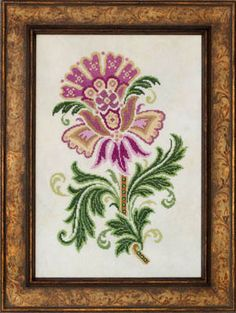 Glendon Place Elizabeth - Cross Stitch Pattern. Stitch Count: 133W x 198H. Elizabeth is the first design in the Glendon Place Baroque Beauties Collection. Model