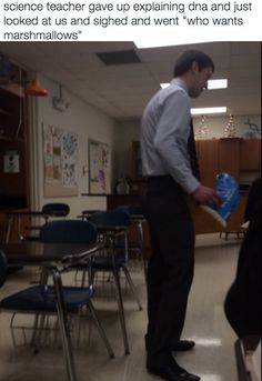 This science teacher giving up for the day. | 19 Teachers Who Definitely Deserve A Raise