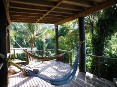 Treehouse hostel, Mission Beach. Did I mention I'm also obsessed with hammocks?