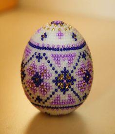 Pysanka Egg | biser.info - minden a gyöngyök és gyöngyös munkák