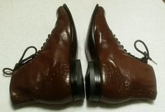Great looking men's all leather ankle boots size 13/D super clean in excellent condition very soft comfortable all leather boots. Buy with confidence as is I ship promptly thanks for looking. | eBay!
