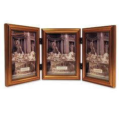 Classic Design Triple Picture Frame