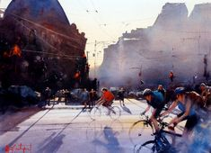 Watercolor Painting by Alvaro Castagnet - Art People Gallery