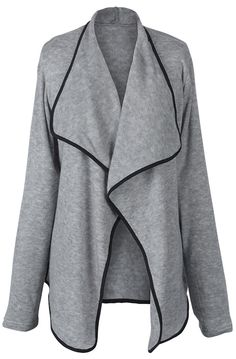 Pre-order Big Sale,$21.99! Easy Return + Refund! Go for street style with this Field Of Dreams Big Lapel Cardigan, featuring big lapel and over size style. That's it! Pick one for holiday trip.