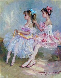 Pequeña bailarina ... Artista Konstantin Razumov. Debate sobre LiveInternet - Servicio rusos Diarios Online