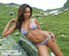 Ariel Meredith's Swimsuit 2014 Gallery. Shot on location in Brazil, Cook Islands, Cape Canveral, Madagascar, St. Lucia, Guana Island, Jersey Shore, and Switzerland. Sports Illustrated, SI.com