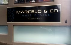 Fascia signs for Marcelo & Co by Speedy Signs Newton