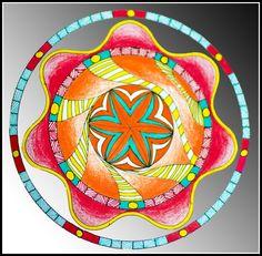 Mandalas - Zentangle - Dubujo - estilografos, microfibras
