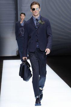 Emporio Armani - Spring 2017 Menswear