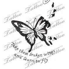 com Tattoo Ideas Tattoo Butterflies Broken Wings Art Tattoo Tattoo . Butterfly Wing Tattoo, Butterfly Sketch, Butterfly Tattoo Meaning, Butterfly Tattoo On Shoulder, Butterfly Tattoo Designs, Name Tattoo Designs, Tattoo Design Drawings, Time Tattoos, Body Art Tattoos