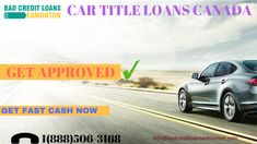 you are shortage of money?. Are you facing a problem?. Now apply for car title loan by bad credit loans Edmonton and get cash same day. Bad credit loans Edmonton provide very fast service.