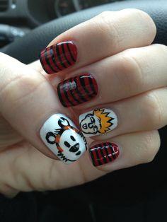 Calvin & Hobbes Nails
