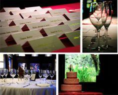 Beautiful photos from a recent wedding reception at National Aquarium, DC venue!