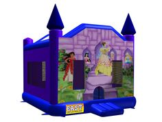 Find Princess Bounce House? Yes, Get What You Want From Here, Higher quality, Lower price, Fast delivery, Safe Transactions, All kinds of inflatable products for sale - East Inflatables UK