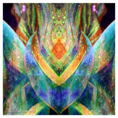Multicolor giclee print on canvas with a geometric motif and eco-friendly dyes.  Product: Giclee Construction Materi...