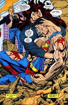 La muerte de Superman, La caída del murciélago y porque pienso que son cómics malos. ~ Neoverso