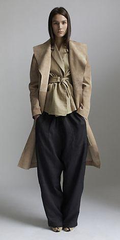 CÉLINE Spring 2014 RTW - belted jacket