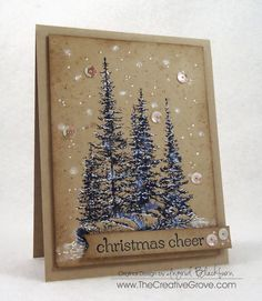 Welcome to another challenge at Merry Monday! This is the challenge all about Christmas cards and getting a head start on the Christmas...